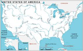 united states of america map with states and capitals united states of america country profile free maps of united