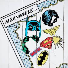 Superhero Photo Booth Dc Comics Photobooth Iwoot