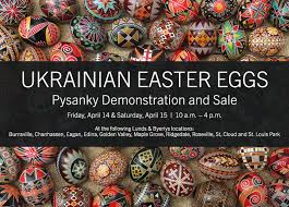 ukrainian easter eggs for sale lunds byerlys ukrainian easter eggs demo and sale