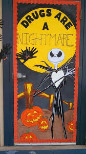 nightmare before ribbon week classroom door