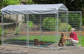 2 x 4 welded wire modular kennel systems hoover fence co dog