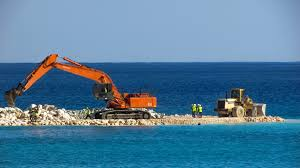 free images sea coast ocean vehicle marina bulldozer