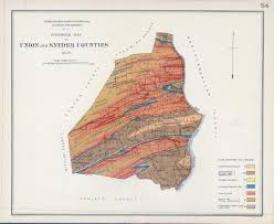 Map Of Berks County Pa Antique Geological Maps