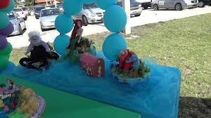 ariel decoration little mermaid decoration balloons youtube