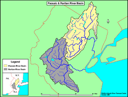 New Jersey rivers images River basin maps gif