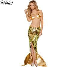 Princess Ariel Halloween Costume Cheap Ariel Halloween Costume Women Aliexpress