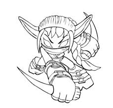 elf skier coloring cartoon coloring pages christmas