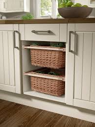 agreeable wall decoration presenting creative kitchen storage