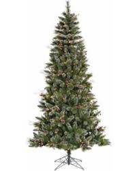 deal on vickerman 4 5 snow tipped pine and berry