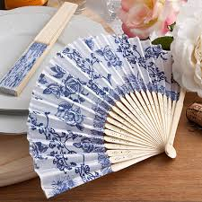 wedding fan favors country design fan favors country