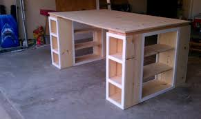 Craft Table Desk Cool Modern Craft Table And Desk Craft Desk With Storage Within