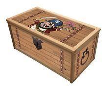 wooden toy chests ebay