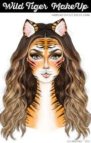 leopard halloween makeup ideas best 20 tiger makeup ideas on pinterest cat makeup leopard