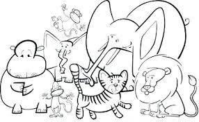 preschool jungle coloring pages jungle animal coloring pages mirotvorec