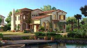 attractive second storey spanish style homes with cool exterior of
