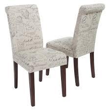 linen dining chair handwriting linen dining chair beige set of 2