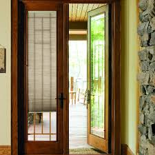 Pella Between The Glass Blinds Designer Series Hinged Patio Door Pella