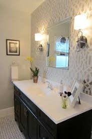 Wallpaper Ideas For Small Bathroom The Best Of Bathroom 25 Accent Wallpaper Ideas On Pinterest Small