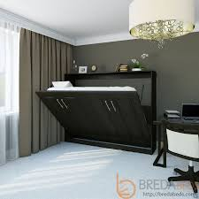 horizontal metropolitan murphy bed horizontal wall bed bredabeds