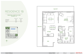 How Big Is 900 Square Feet Aventura Parksquare 1 Bedroom 1 5 Bath Plus Den Floor Plan