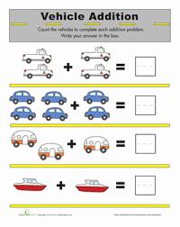 addition for kids worksheet education com