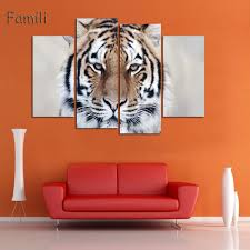 Art For Living Room by Online Get Cheap White Tiger Decorations Aliexpress Com Alibaba