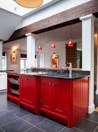 red cabinets in kitchen red cabinets houzz
