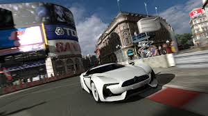 citroen supercar polyphony digital turns gaming fantasy into london reality
