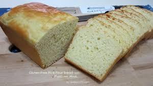 Vegan Gluten Free Bread Machine Recipe Gluten Free Rice Flour Bread With Psyllium Husk Dietplan 101 Com