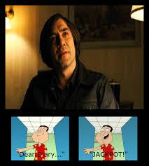 Quagmire Meme - quagmire meme anton chigurh by jasonpictures on deviantart