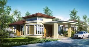 Single Story House Design Single Storey Bungalow House Designs House Design