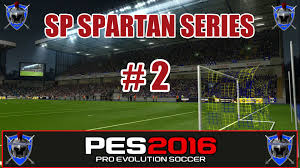 pes 2016 master league sp spartans series 2 youtube
