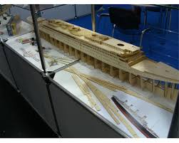 Radio Controlled Model Boat Plans Billing Boats B510 Rms Titanic Model Boat U0026 Fittings Probably