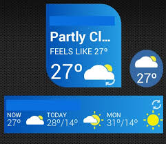 best android weather widget top 7 best weather widgets for android intellectuapp