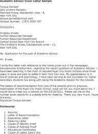 cover letter to college awesome cover letter for college academic advisor position 64 in
