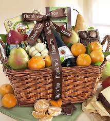 gift baskets food thank you gift basket 1800baskets 96153