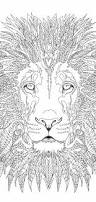 lion coloring pages printable coloring book lion clip art