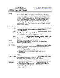 combination resume template word jospar