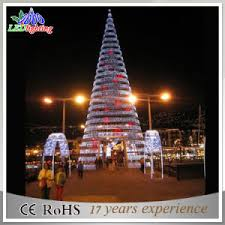 Spiral Light Christmas Tree Outdoor by Lighted Spiral Christmas Trees Outdoor Great Make A Splash With