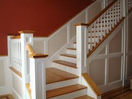 install wainscoting stairs wainscoting stairs wood panels