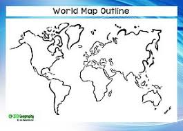 outline of world map blank world maps