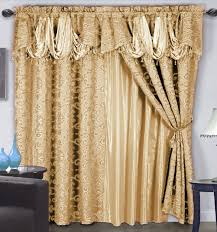 Antique Satin Valances by Curtain Valance Gold Decorate The House With Beautiful Curtains
