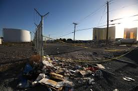 las vegas strip shooter targeted aviation fuel tanks source says