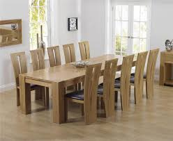 Dining Table And 10 Chairs Large Dining Table And Chairs Modern Home Design