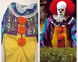 Pennywise Halloween Costume Pennywise Costume Etsy