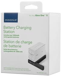 insignia battery charging station for xbox one s white ns