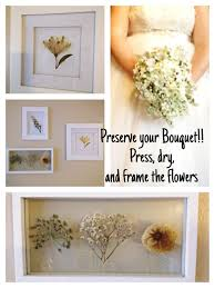 How To Frame A Print After The Wedding Press My Bouquet And Make Art In An Old Window