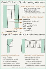 Standard Window Curtain Lengths Curtains Standard Curtain Lengths And Widths Ideas Tips By