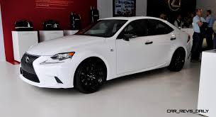 white lexus is 250 red interior 2015 lexus is250 review