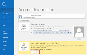 how to master outlook u0027s out of office automatic replies windows